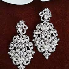 chandelier wedding earrings bridal statement earrings style from sukrankirtisjewelr
