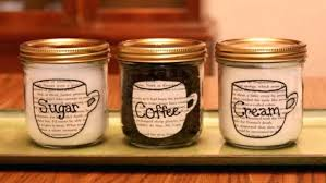 coffee themed kitchen canisters coffee themed canisters yogavistastudio com