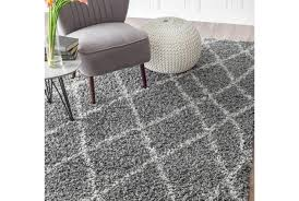 graceful concept moroccan shag rug captivating black and white