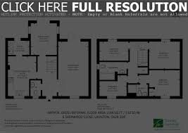 simple house floor plans with measurements 4 bedroom apartmenthouse plans four luxihome