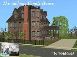 Addams Family Mansion Floor Plan Wolfsim68 U0027s The Addams Family House