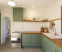 wooden kitchen cabinets nz block nz winners and caleb complete a cottage reno in