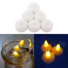 floating led tea lights 100pcs water sensor flameless led floating tealight candle tea light
