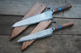 custom kitchen knives sle work haburn custom kitchen knives and personal projects