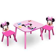 minnie mouse wooden table and chair set mickey mouse dresser