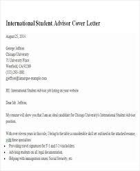 sample academic advisor cover letter doc sample cover letter for