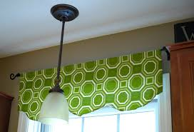 Green Valance One Hour Window Valance Living Rich On Lessliving Rich On Less