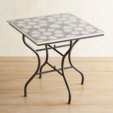 Tile Bistro Table Tile Mosaic Marble Bistro Table Pier 1 Imports