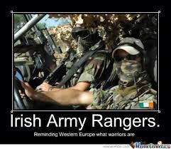 Army Ranger Memes - irish army rangers by celtic777 meme center