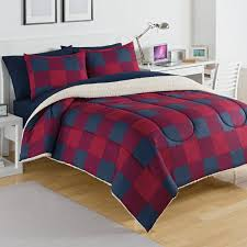 Plaid Bedding Set Izod Buffalo Plaid Comforter Set U0026 Reviews Wayfair