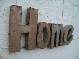 Wall Decor Signs For Home by Great Home 3d Metal Sign Handmade For Rustic Lovers