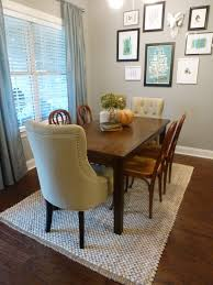 rug in dining room ideas placement of area roomcowhide roomno 96