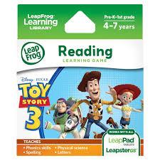 leapfrog disney pixar toy story 3
