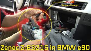autoradio navi im 3er bmw e90 einbauen tutorial ars24 com