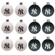 take a look at this new york yankees led ornament set by evergreen