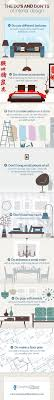 home design do s and don ts the do s and don t of interior design infographic plani