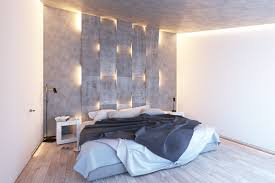bedroom luxury princess bedrooms lighting with traditional classic concrete accent wall with recessed lighting modern platform bed white pillows dark white throw blanket modern