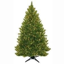 general foam 6 5 ft pre lit half artificial tree with
