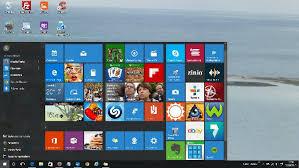 logiciel icone bureau 10 réparer le bug du menu démarrer