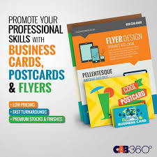 business cards postcards flyers cab360 miami fort