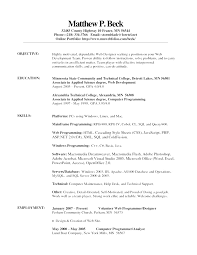 web architect resume seek amazing 5 parts of a resume contemporary simple resume