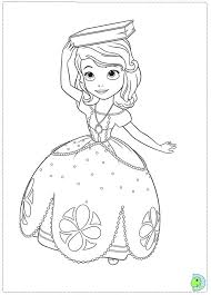sofia coloring pages printable projects