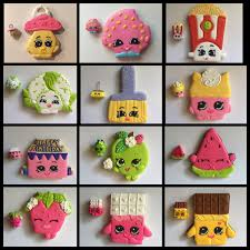 shopkins decorated sugar birthday party cookies follow my board