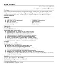 sle manager resume template resume templates manager sle cv exle sle cv quality