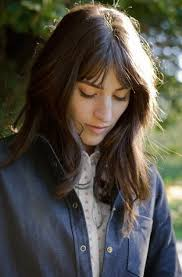 hairstyles with bangs and middle part the 25 best center part bangs ideas on pinterest parted bangs