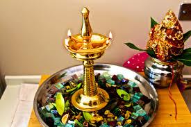 traditional lamp from kerala u0026 kalash sthapana lamp is pla u2026 flickr