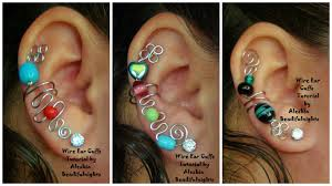 ear cuffs wire ear cuffs tutorial