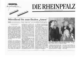 Allgemeine Zeitung Bad Kreuznach Kritiken