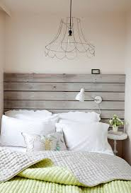 tiny bedside table driftwood headboard bedroom shabby chic style with tiny bedside