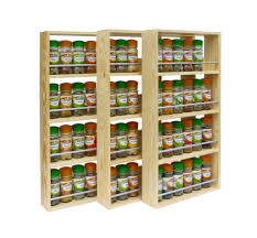 cabinet wall mounted spice shelves best spice racks ideas on