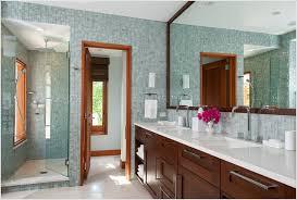 Dark Vanity Bathroom Denver Bathroom Contemporary Denver Dark Stained Wood Double