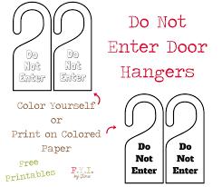 do not enter door hanger free printable u2022 fyi by tina
