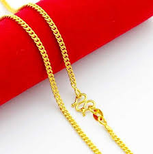 new arrival fashion 24k gp gold plated mens women online shop new arrival fashion 24k gp gold color necklace mens