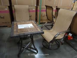 Synthetic Wood Patio Furniture by Furniture Patio Furniture Clearance Costco With Wood And Metal