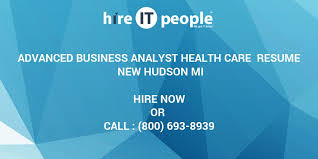 sle resume for business analyst role in sdlc phases system advanced business analyst health care resume new hudson mi hire