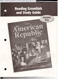 reading essentials and study guide answer key glencoe the