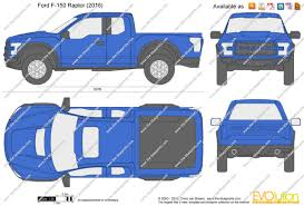 ford raptor 2016 the blueprints com vector drawing ford f 150 raptor
