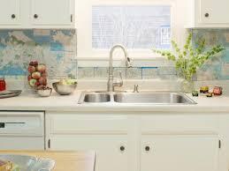 Budget Kitchen Backsplash Cheap Backsplash For Kitchen Brilliant Home Design Interior