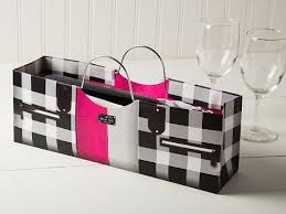 purse gift bags purse themed wine gift bag by true