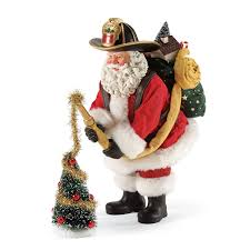 possible dreams santa possible dreams fireman santa decorating tree figurine flossie s