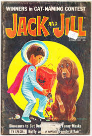 papergreat two vintage halloween themed covers of jack and jill