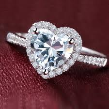 heart shaped wedding rings heart cut diamond engagement rings pros and cons