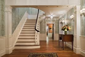 colonial home interiors zimmerman architects use of sconce lighting in