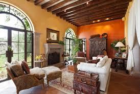 mediterranean living room by matt varnado benjamin moore crowne