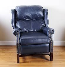 Thomasville Wingback Chairs Thomasville Leather Wingback Recliner Ebth