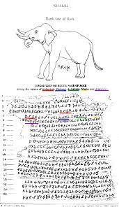 file khalsi rock edict of ashoka with names of the jpg